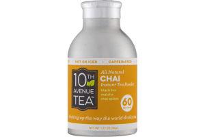 10th Avenue Tea All Natural Chai Instant Tea Powder