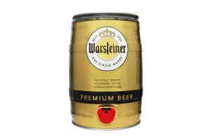 Пиво 5л 4.8% светлое пастеризованное Premium Beer Warsteiner ж/б