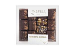 """Цукерки шоколадні """"Віскі-солона карамель"""" ТМ """"Спелл"""", 170 г."""