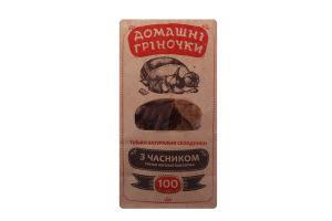 Гренки ржано-пшеничные с чесноком Домашні гріночки м/у 100г