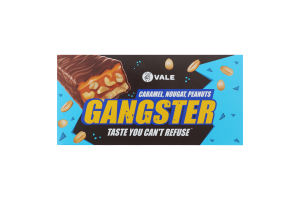 Батончик с арахисом, нугой и карамелью Gangster Vale м/у 50г