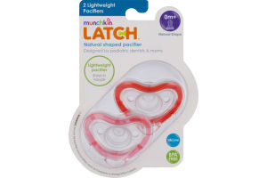 Munchkin Latch Natural Shaped Pacifier - 2 CT