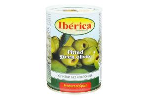 Оливки без косточки Iberica ж/б 420г