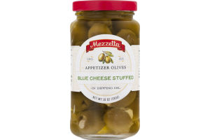 Mezzetta Appetizer Olives in Dipping Oil Blue Cheese Stuffed