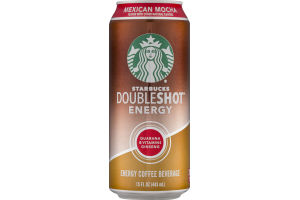 Starbucks Doubleshot Energy Coffee Beverage Mexican Mocha