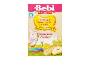 Каша молочна пшенична від 6 міс Печиво з грушами Premium Bebi к/у 200г