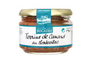 Паштет з м'ясом качки Терін з вином Монбазілак Les Bocades с/б 175г