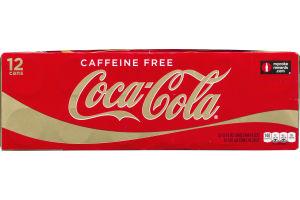 Coca-Cola Caffeine Free - 12 CT