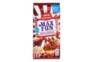 Шоколад молочний з мармеладом Кола-попкорн-вибухова карамель Max Fun Корона м/у 160г