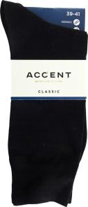 Шкарпетки чоловічі Accent №0007834825 39-41 чорний
