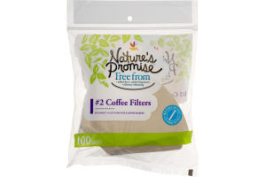 Nature's Promise #4 Coffee Filters - 100 CT