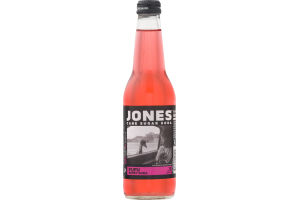 Jones Cane Sugar Soda FuFu Berry Soda