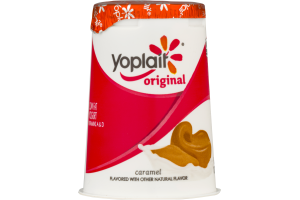 Yoplait Original Low Fat Yogurt Caramel