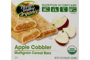 Health Valley Organic Apple Cobbler Multigrain Cereal Bars - 6 CT