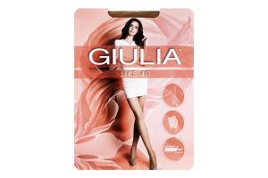 Колготки жіночі Giulia Like 40den 5-XL daino