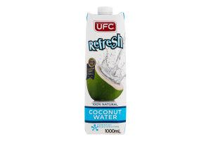 Вода кокосовая UFC