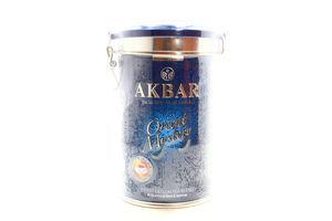 Чай черный и зеленый крупнолистовой с розой и жасмином Oriental Mystery Akbar ж/б 200г