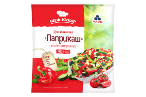 Суміш овочева заморожена Паприкаш Рудь м/у 400г