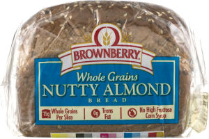 Brownberry Whole Grains Nutty Almond Bread