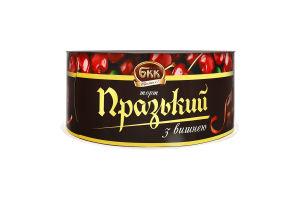 Торт Пражский с вишней БКК к/у 450г