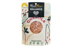 Сніданки сухі Гранола з ягодами та насінням Balance Muesli Mania д/п 350г