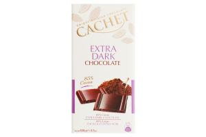 Шоколад Cachet экстра черн. 85% 100г