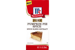 McCormick Spice Blend Extract Pure Pumpkin Pie Spice