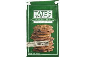 Tate's Bake Shop Whole Wheat Cookies Dark Chocolate
