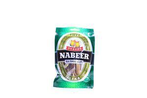 Щука солено-сушеная филе-соломка Пивний Nabeer м/у 25г