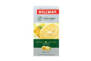Чай чер.Свежый Лимон Hillway 25х1.5г