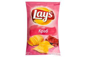 Чіпси Lays зі смаком крабу 30г х36