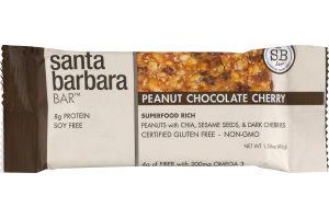 Santa Barbara Bar Peanut Chocolate Cherry