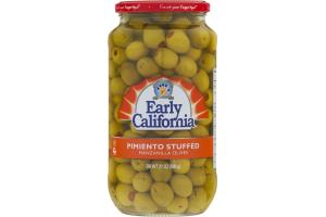 Musco Family Early California Pimiento Stuffed Manzanilla Olives