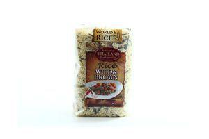 Рис Дикий+натуральный World's Rice 500г