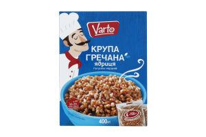 ВАРТО Крупа гречана ядриця ґ/п 4х100 400г