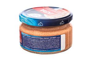 Продукт с икрой скандинавской рыбы и копченой семгой Икра Водный мир с/б 160г