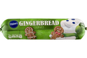 Pillsbury Gingerbread Cookies Dough Value Size