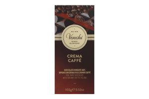 Шоколад черный Venchi с кофейным наполнителем