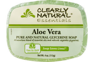 Clearly Natural Essentials Glycerine Soap Aloe Vera