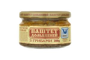 Паштет з грибами Домашній Онисс с/б 200г