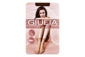 Шкарпетки жіночі Giulia Easy 40den 23-25 caramel 2пари