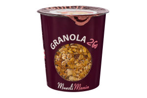 Сніданки сухі Гранола з фруктами Fruit It Granola 2Go Muesli Mania ст 70г
