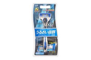 Станок для бритья мужской со сменной кассетой Axia Kai 1шт