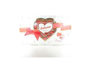 Конфеты молочный шоколад с орехом пралине Rainford Любимов 225г