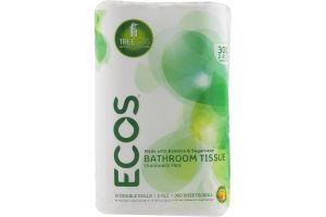 ECOS Bathroom Tissue Fragrance Free - 12 PK