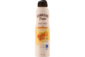 Hawaiian Tropic Sheer Touch Clear Spray Sunscreen SPF 15