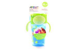 Чашка Avent для пиття з клапаном 18міс+ 340мл х6