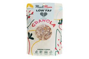 Сніданки сухі Мюслі низькокалорійні Low fat Muesli Mania д/п 350г