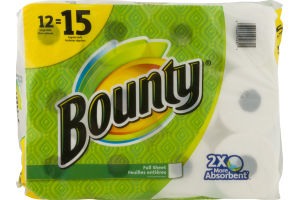 Bounty Paper Towels Full Sheet - 12 CT