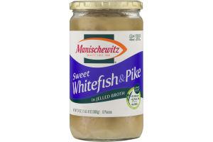 Manischewitz Sweet Whitefish & Pike in Jelled Broth